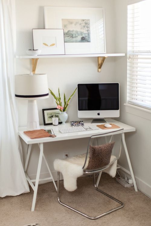 Home Office Inspiration home office inspiration-12 » peanut buttered on we heart it