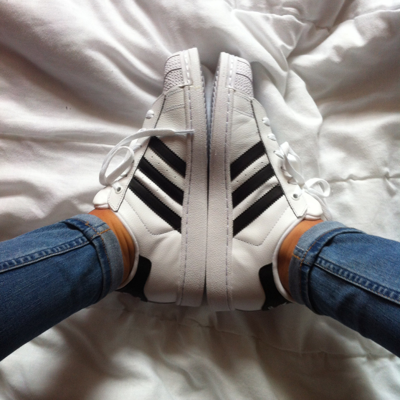Adidas Superstar 2 White Tumblr