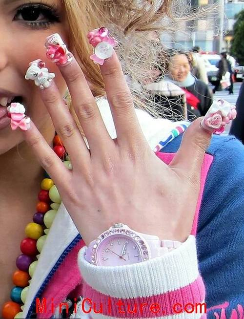 Cute nail ideas girls cute pretty nail designs for school girlslarge report this entry prinsesfo Choice Image