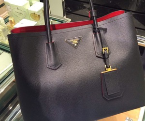 Prada Double Bag Black