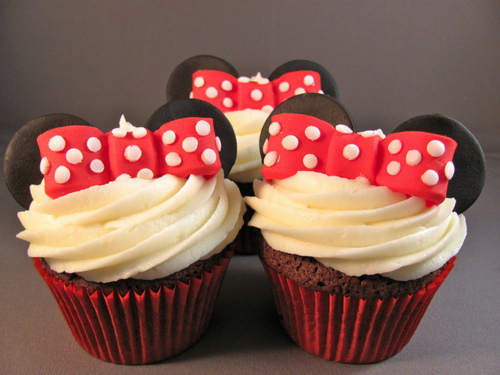 Cupcakes Minnie / Imagens Fofas para Tumblr, We Heart it, etc
