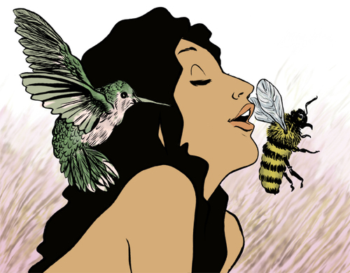 birds bees large We launched our fabulous app of first time sex stories.