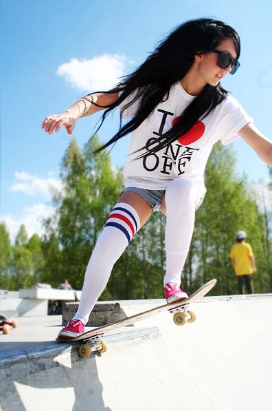 Chicas en Skate