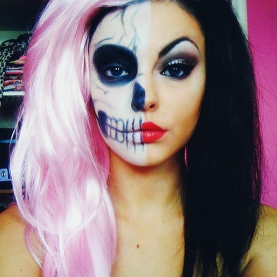 Pretty and scary Halloween makeup ideas for the whole family ...