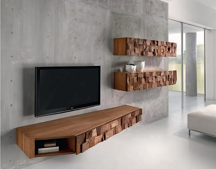 Concrete Tv Stand Diy - TV Stand Ideas