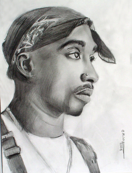 tupac drawing flickr photo sharing we heart it