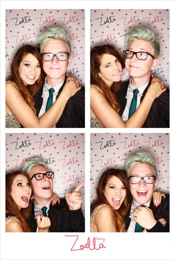 Both of these people are awesome   We Heart It   zoella ...