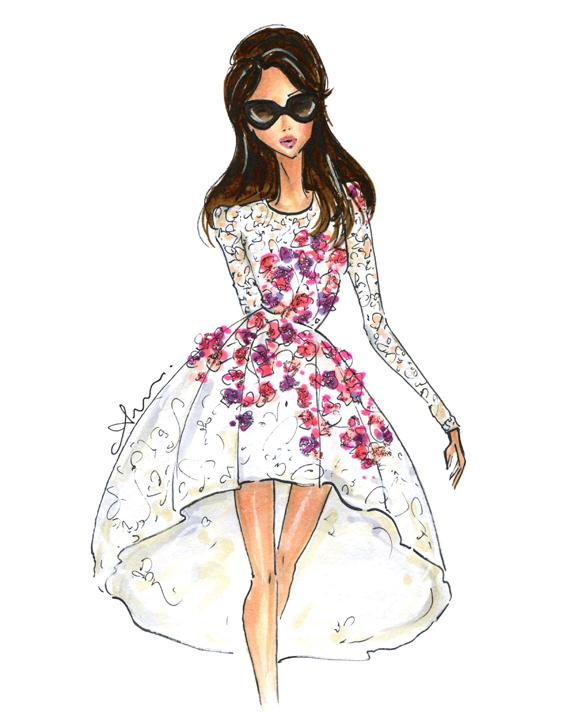 fashion illustration by anum tariq we heart it fashion