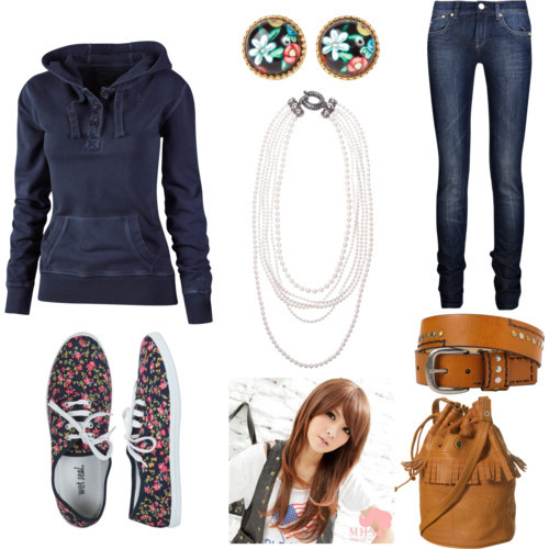 polyvore school outfits