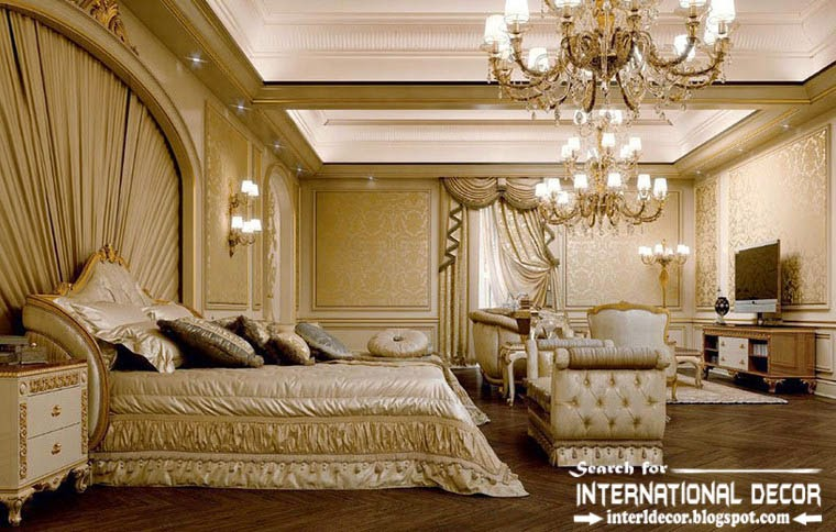 Luxury classic bedroom interior design decor and furniture for Classic house interior design