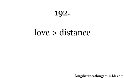 Long Distance Things