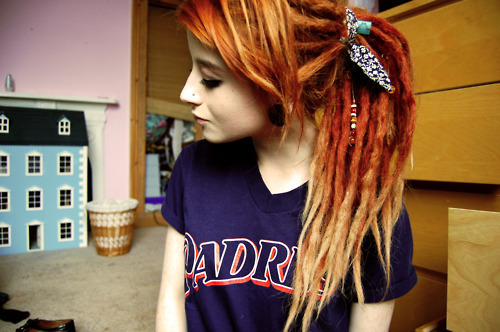 Chicas con Dreadlocks.