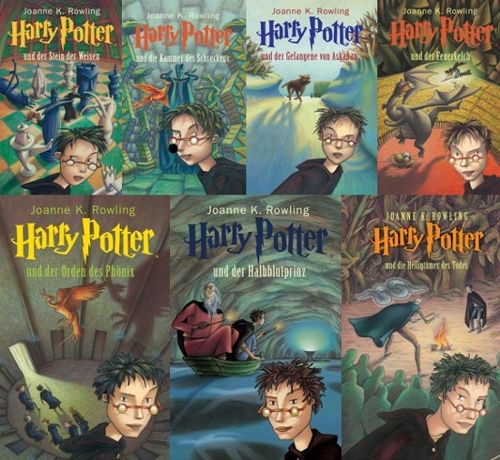 Harry Potter 1 Buch
