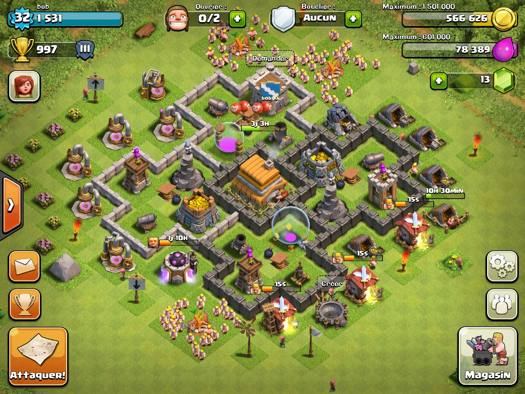 Base Designs Town Hall Level 6 - Ultimate Clash of Clans ...