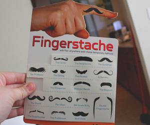 fingerstache