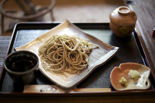 Japanese soba noodles simple eating pleasure