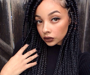 Box Braids Com Linha De Croche : Senegalese Twist & Box Braids by manonette28 on WHI