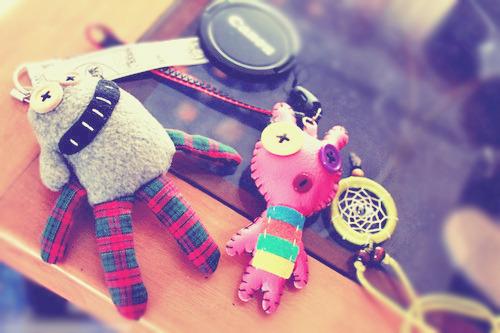 Chaveiros de Monstrinhos / Imagens Fofas para Tumblr, We Heart it, etc
