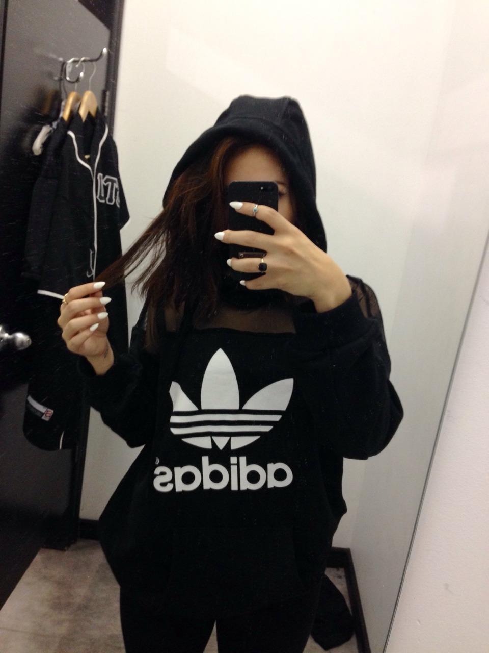 adidas girl tumblr