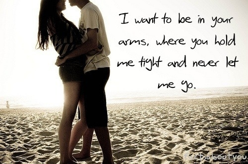 couple, cute, love, quotes - inspiring picture on Favim.com | We Heart