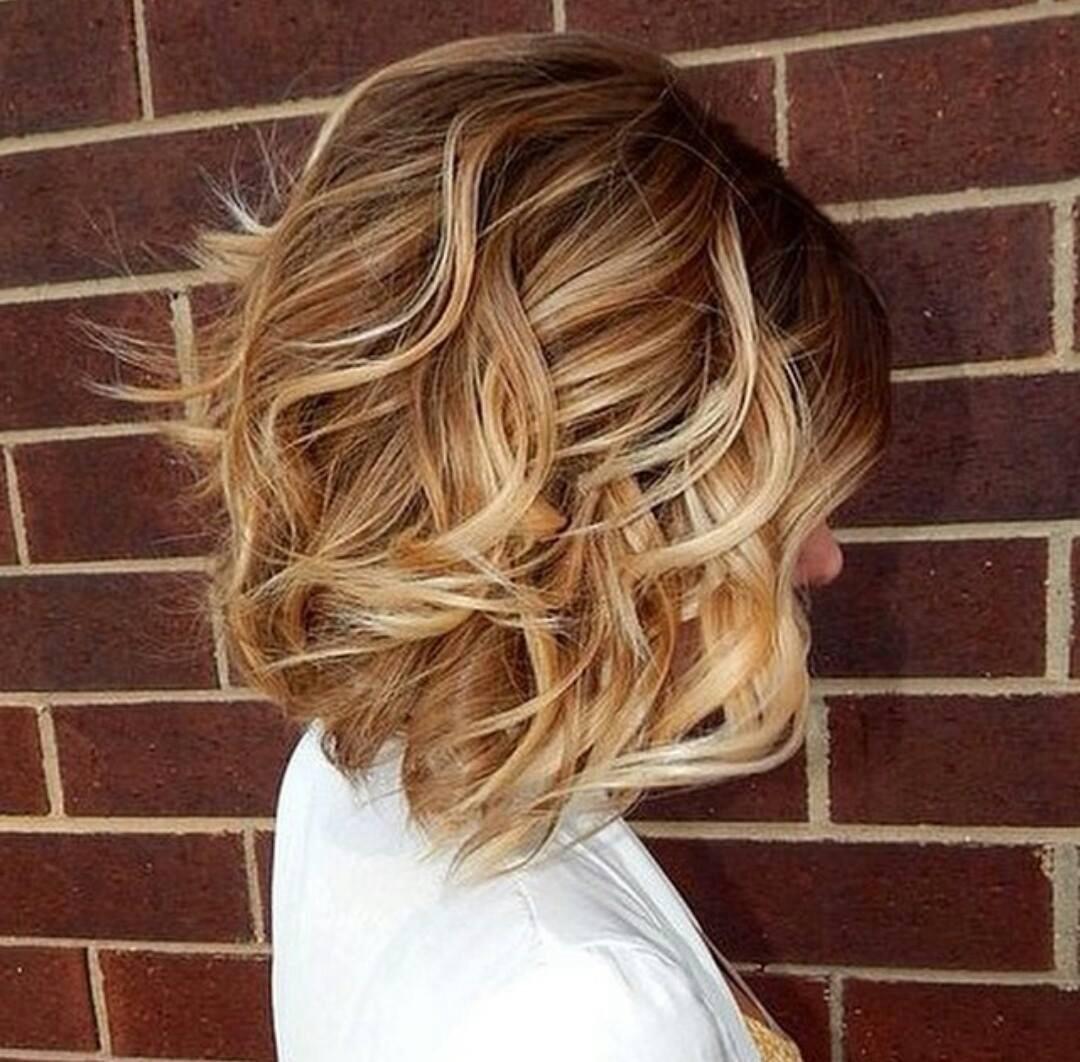 Покраски волос на средние волосы фото