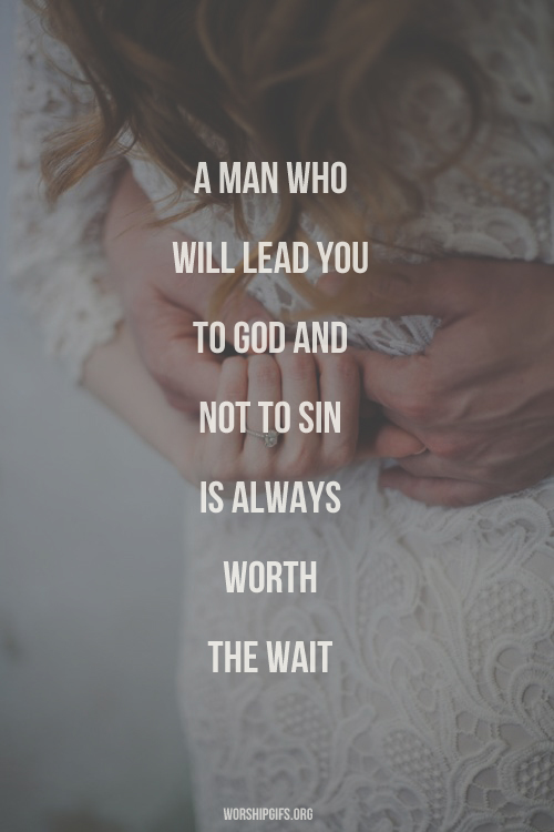 A man who will lead you to God and not to sin is always ...