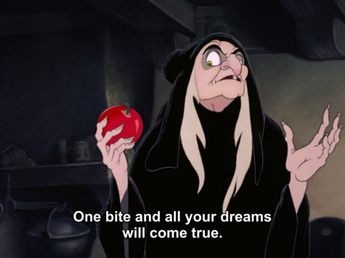 Apple-black-fuckhard-terrible-typography-favim com-137259 largeQuotes From Snow White