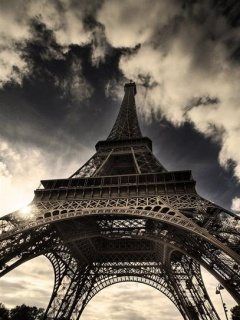 Large Picture Eiffel Tower on Eiffel Tower11   Iphone   Images  Wallpaper   Ecard On We Heart It