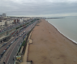 brighton sea wow cloudy