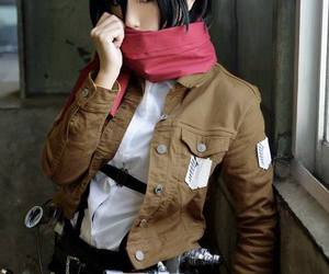 black hair girl cosplay