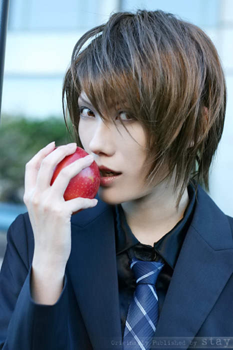 DEATH NOTE Cosplay yagami light