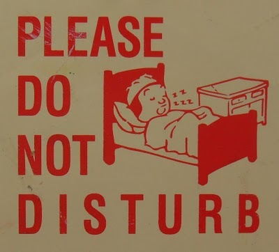 1950s please do not disturb