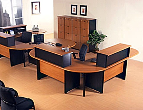 How To Arrange Your Wooden Modular Office Desk Furniture