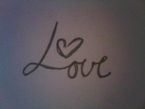 My Love In Cursive Pictures to Pin on Pinterest - PinsDaddy