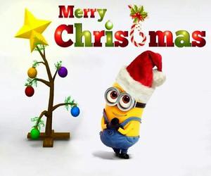 Merry christmas minion despicable me merry christmas