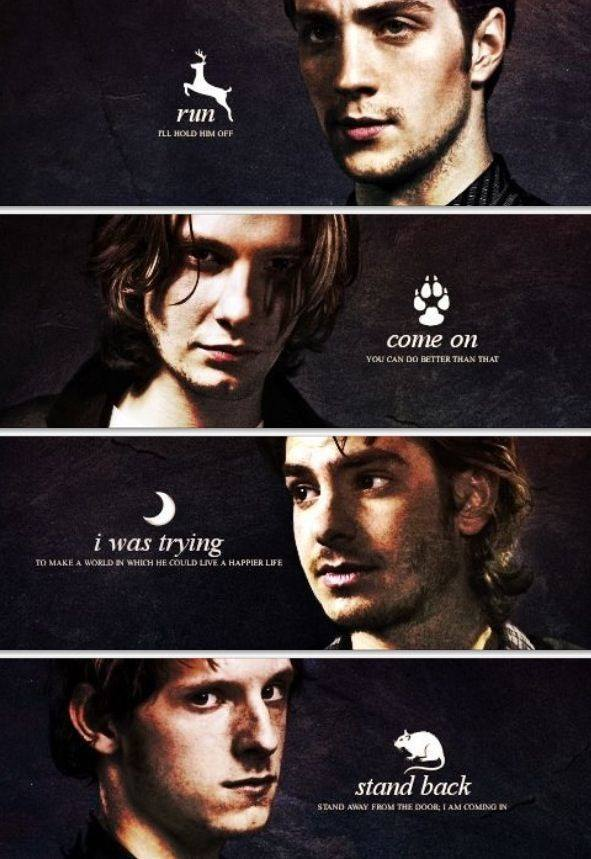 sirius black, james potter and remus lupin image on We ...