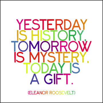 Yesterday is History, Tomorrow