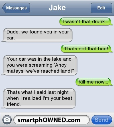 Drunk - SmartphOWNED - Fail Autocorrects and Awkward Parent Texts