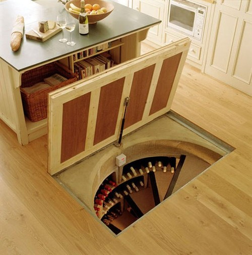 Cook Up A Storm! / Hidden Wine Cellar.