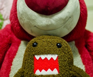 domo with his friend