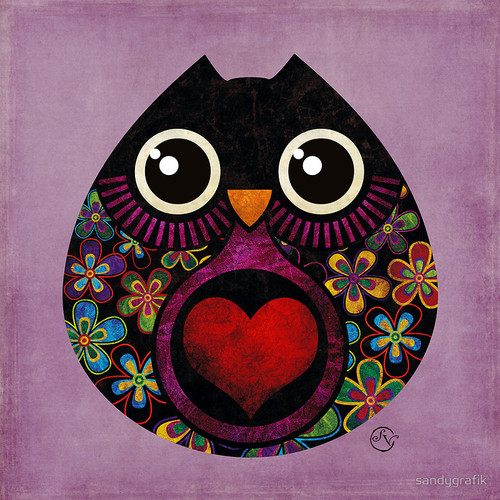 """Owl's Hatch"" by sandygrafik 