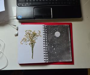draw moon art black white