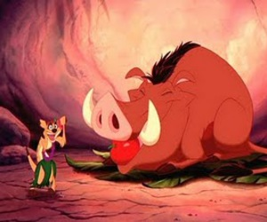 Timon and Pumbaa