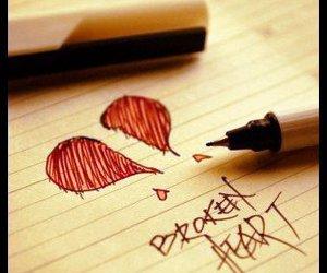 bkoken heart