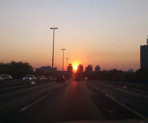 belgrade sunset