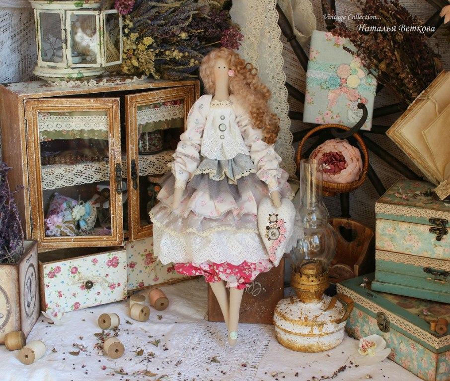 Тильды от Ветковой Натальи - 22 Мая 2014 - Кукла Тильда. Всё о Тильде, выкройки, мастер-классы. We Heart It vintage Doll