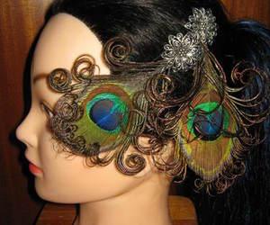peacock curl
