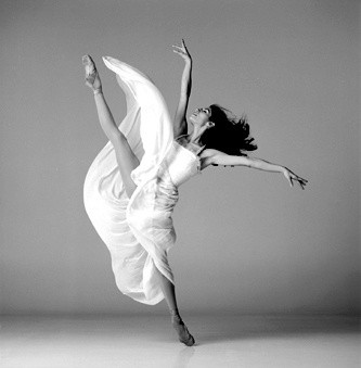 action, ballerina, ballet, ballett, black and white, body - inspiring picture on Favim.com