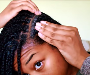 how to wash braids