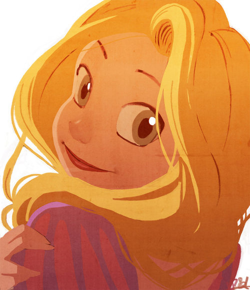 Rapunzel_sketch__colored__by_vp_artworks-d34x5wg_large